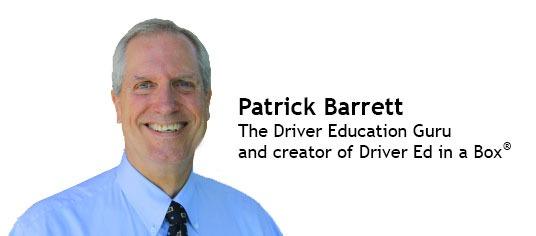 Patrick Barrett - the drivers ed expert